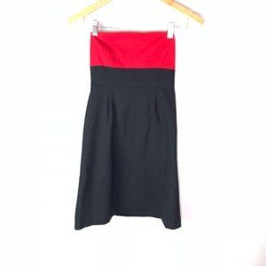 Theory strapless dress size 2